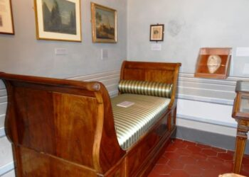 cama de John Keats